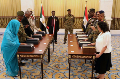 المدنيون في المجلس السيادي السوداني.. بورتريهات القصر الجديد